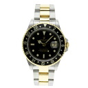 Department of K18YG/SS men's ROLEX Oyster Perpetual date GMT-Master II 16713 OH Watch