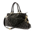 LOUIS VUITTON ネオカビィ MM M95351 tote bag denim Lady's fs3gm