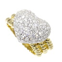 SELECT JEWELRY diamond ring K18 gold Lady's fs3gm