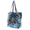 SEE BY CHLOE casual Paisley pattern tote bag canvas cotton ladies
