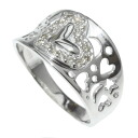 SELECT JEWELRY diamond ring K18 gold / white gold Lady's fs3gm
