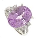 SELECT JEWELRY kunzite / diamond ring Platinum PT900 ladies upup7
