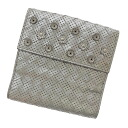 BOTTEGA VENETA intrecciato punching two bi-fold wallet ( purses and ) Leather Womens fs3gm