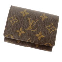 LOUIS VUITTON アンヴェロップ カルトドゥヴィジット M62920 card case monogram canvas unisex fs3gm
