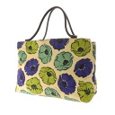 Kate spade poppy pattern handbag canvas women's upup7