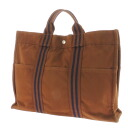 HERMES case fool toe MM tote bag canvas unisex fs3gm