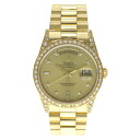 ROLEX Oyster Perpetual Day-Date Watch 18388A watch K18 mens