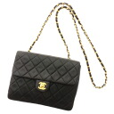 CHANEL chain here mark matelasse shoulder bag lambskin Lady's fs3gm