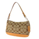 COACH 6094 signature pattern accessories pouch signature canvas / leather ladies