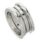 BVLGARI B-zero1 S ring, ring K18 white gold Lady's fs3gm