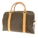 LOUIS VUITTON carryall M40074 Boston bag monogram canvas unisex fs3gm