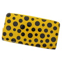 Yayoi Kusama M9157 long wallet (there is a coin purse) ヴェルニレディース fs3gm raw LOUIS VUITTON ジッピーウォレット Kusama