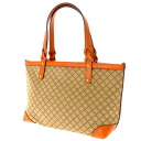 Horizontal type GUCCI tote bag canvas Womens