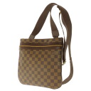 LOUIS VUITTON ポシェットボスフォー M40044 shoulder bag Damier Canvas unisex