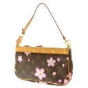 LOUIS VUITTON cherry blossom M92006 accessories porch monogram canvas Lady's fs3gm
