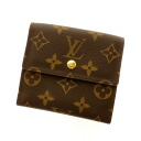 LOUIS VUITTON Porto Foy Yue Leeds M61652 folio wallet (there is a coin purse) monogram canvas unisex fs3gm