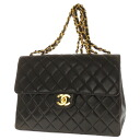 CHANEL chain Coco make shoulder bag Leather Womens