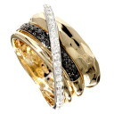 SELECT JEWELRY diamond ring, ring K18 pink gold /K18WG Lady's fs3gm