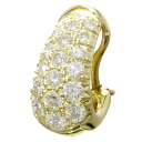 HARRY WINSTON diamond earrings K18 18kt yellow gold ladies fs3gm