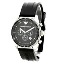 Emporio Armani AR0527 watch stainless steel / rubber men