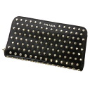 PRADA studs motif wallet 1 m 0506 ( purses and ) Leather Womens