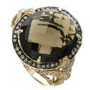 SELECT JEWELRY mho key quartz / diamond ring, ring K18 pink gold Lady's fs3gm