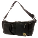 OROBIANCO canvas shoulder bag unisex fs3gm