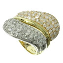 SELECT JEWELRY diamond ring, ring K18 gold /PT900 Lady's fs3gm