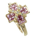 SELECT JEWELRY sapphire / diamond ring, ring K18 pink gold Lady's fs3gm