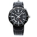 SEIKO brightz Ananta GMT REF. SAEA007 watch stainless steel / leather mens fs3gm