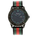 GUCCI 126.2 webbing line watch stainless steel / canvas men's fs3gm