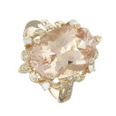 SELECT JEWELRY morganite and diamond ring-ring K18 pink Womens fs3gm