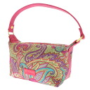 ETRO mini-porch paisley shoulder bag cotton Lady's fs3gm