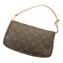 LOUIS VUITTON Accessoires or M51980 accessory pouch Monogram Canvas ladies
