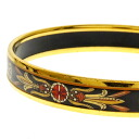 HERMES バングルエマイユ cloisonne ware bracelet Lady's fs3gm