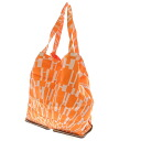 HERMES silky pop pocketable tote bag leather x silk unisex fs3gm