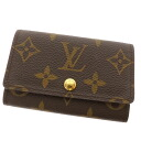 LOUIS VUITTON key holder 6 M 62630 key case Monogram Canvas ladies fs3gm