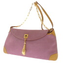 GUCCI suede shoulder bag Leather Womens fs3gm
