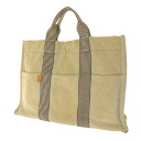 HERMES トワルアッシュ MM tote bag canvas unisex fs3gm