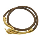 HERMES ジャンボブレス bracelet Leather Womens fs3gm