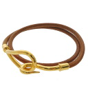 HERMES jumbo breath bracelet leather Lady's fs3gm