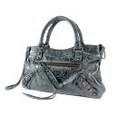 BALENCIAGA first handbag Leather Womens fs3gm