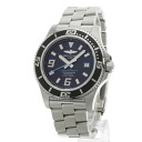 BREITLING supermarket ocean watch stainless steel men fs3gm
