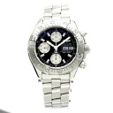 BREITLING supermarket ocean A13340 watch stainless steel men fs3gm