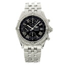 BREITLING cross wind watch stainless steel men fs3gm