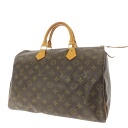 35 LOUIS VUITTON speedy M41524 handbag monogram canvas Lady's fs3gm