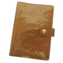 LOUIS VUITTON agenda PM R21009 notebook カバーヴェルニユニセックス fs3gm
