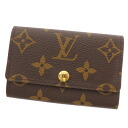 6 LOUIS VUITTON ミュルティクレ M62630 key case monogram canvas unisex fs3gm