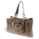 COACH Chelsea emboss skeleton Koda yl Jay den yeast / waist carry oar shoulder bag type push leather Lady's fs3gm