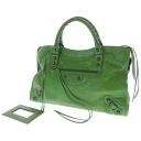 The BALENCIAGA city handbag Leather Womens upup7
